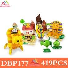 Plants vs Zombies Garden Maze Struck Game Legoings Building Bricks Blocks Set Anime Figures My World Toys For Children Gifts