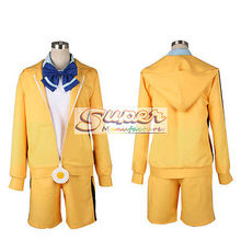 DJ DESIGN Bakemonogatari Monstory Monogatari Araragi Karen Uniform Cloth Cosplay Costume