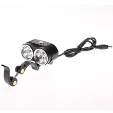 Ultra-Bright 10000 LM Bike Front Light Rechargeable 6 x XM-L T6 LED Bicycle Headlight Flashlight Cycling Safety Warning Light