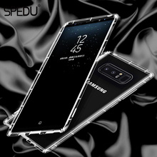 For Samsung galaxy Note 8 Case, SPEDU Full Protective Transparent Soft Back Cover Phone Cases For Samsung Galaxy Note8 Cover