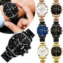 Luxury Mens Watches Quartz Stainless Steel Analog Sports New Wrist