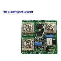 12V15A Lightning Protector Surge Suppressor Peak Voltage Module Surge Surge Overvoltage Protection Relay