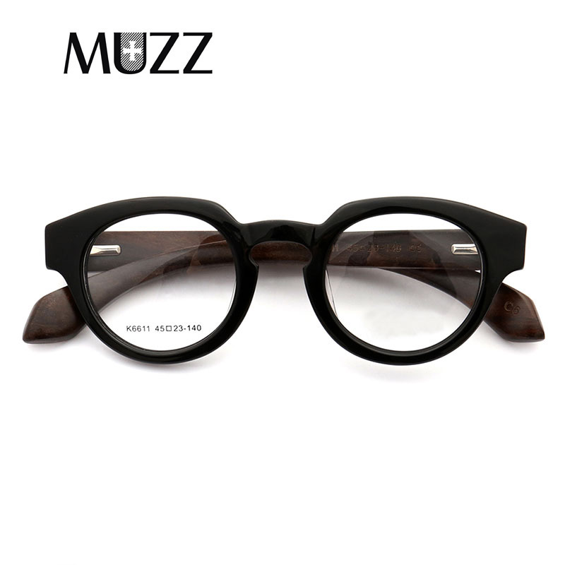 b6a3b1b23c Retro Acetate Optical Glasses Frames Women Wooden Eyeglasses Frame for Women  Men prescription Glasses Computer Reading Glasses