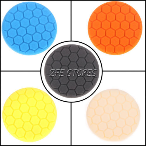 New 6 inch Hex-Logic Polishing Pad kit For Car Polisher