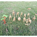 13Pcs/Lot Anime The Good Dinosaur Skeleton Figure Toys Dinosaur Models PVC Simulation Dragon Kid's Toys Jurassic Park