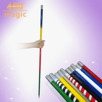 Magic steel rod metal great steel rod telescopic rod silver magic wand stage magic props