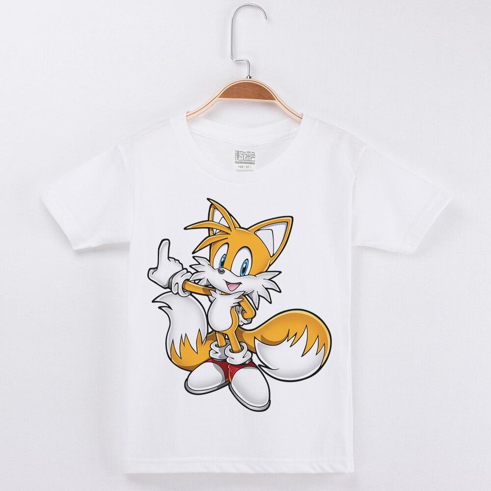 New Brand Tshirt Boy Kids T Shirt Half Sleeve Cotton Fashion Popular Tops Cartoon Anime Printed Child Basic Girls