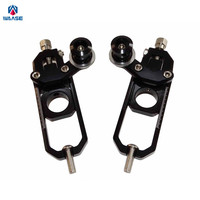 waase Motorcycle Chain Adjusters with Spool Tensioners Catena For Honda CBR1000RR 2004 2005 2006 2007