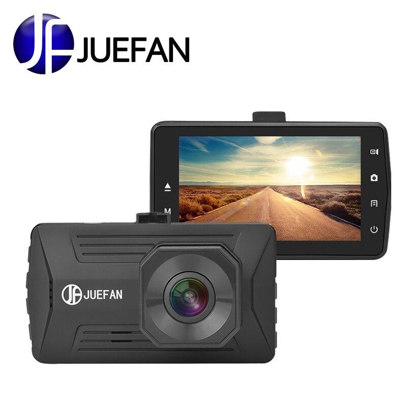 JUEFAN Mini Dash Cam Cyclic Recording Car Dvr Camera Recorder IPS Full HD 1080P Novatek Night