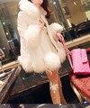 50 par/lote fedex envío rápido libre del estilo coreano de la mujer sexy de encaje pantimedias rosa perla blanca/negro/piel de caramelo medias de color