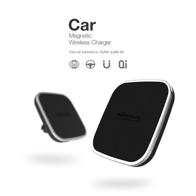 Nillkin qi sem fio do carregador do carro titular respiradouro de ar magnético montar pad para iphone 7 7 plus 6 6 s 6 plus para samsung s6 s7 s7edge note5