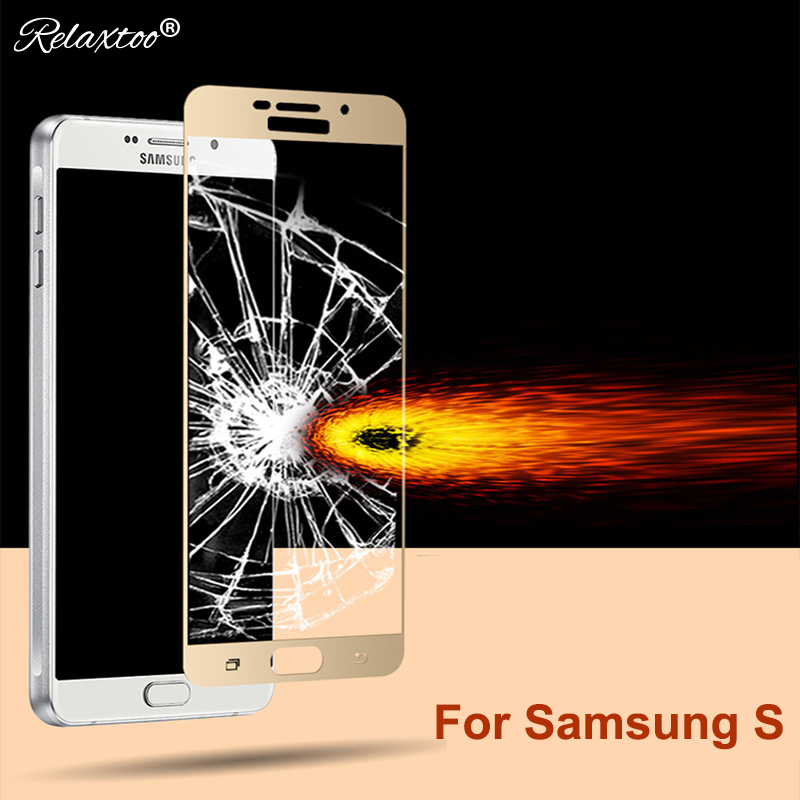 2.5D Protective film For samsung galaxy s7 s 6 tempered glass HD full cover for sumsung s6 glass s 7 Screen Protector Glas