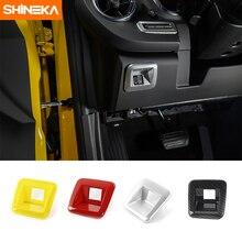 SHINEKA украшения интерьера автомобиля наборы фар вверх и подпушка управления Настенные переключатели крышка Панель рамки для Chevy Camaro 6th Gen 2017 +
