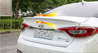Newest Different Colors Painted ABS Sports Car Rear Trunk Spoiler Wing For Hyundai SONATA 9 2015