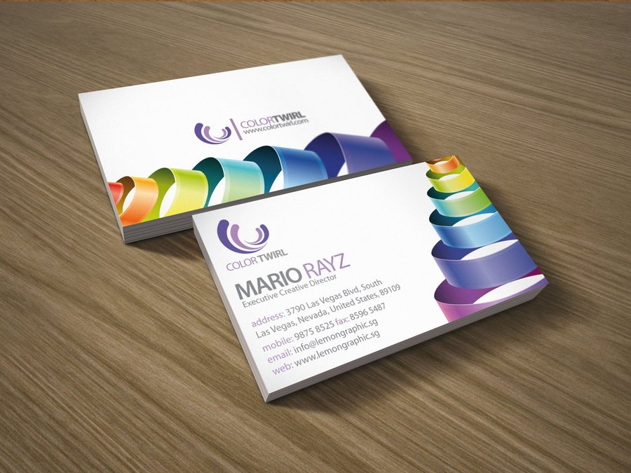 350gsm laminated art paper business cards +free shipping-in Business ...