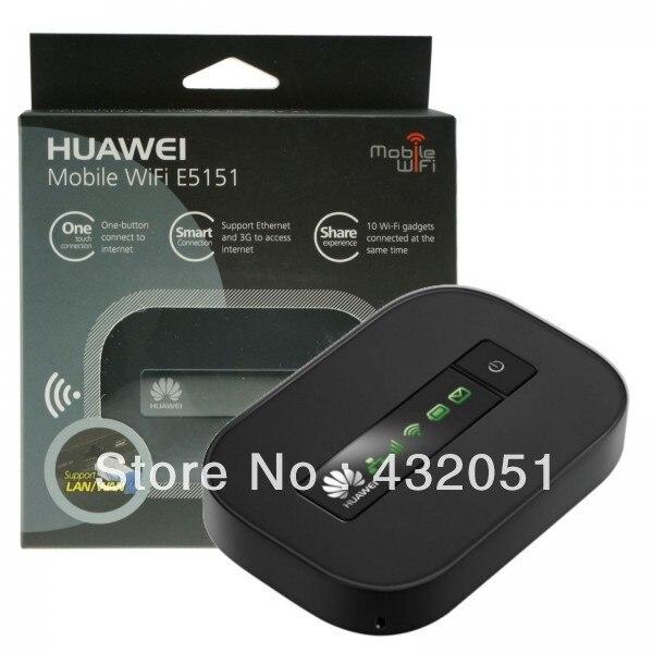 HUAWEI E5151 3G HSPA+21Mbps Mobile Internet WIFI-N MIFI USB LAN Hotspot Unlocked