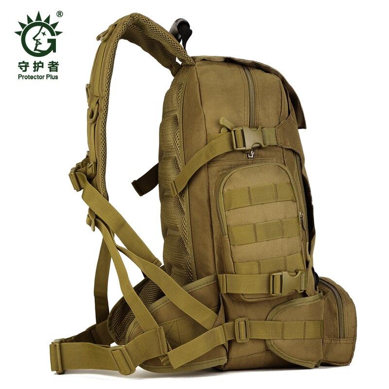 Hot unisexe 40L multi-fonction Camouflage sac à dos tactique militaire en Nylon taille Pack imperméable à l'eau en plein air voyage randonnée sacs - 3