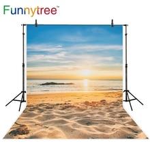 Funnytree fundo photo studio fotografia fundo praia crepúsculo sea sunset verão photobooth prop foto impressa