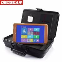 XTUNER E3 Wifi Full System Car Diagnostic Tool Automotive Scanner OBD2 Scanner 8 WIN10 Tablet Car