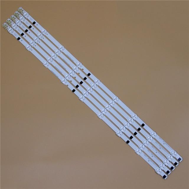 TV LED Bars Voor Samsung UE32F6640SS UE32F6670SB UE32F6800AB UE32F6805SB UE32F6890SS LED Backlight Strip Kit 9 Lamp Lens 5 Bands