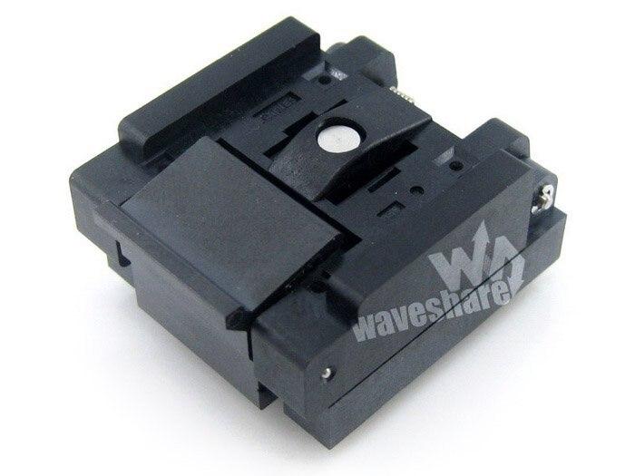 ФОТО Modules QFN20 MLP20 MLF20 QFN-20BT-0.5-01 QFN Enplas IC Test Socket Adapter 0.5mm Pitch Free Shipping