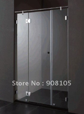 304 Stainless Steel Handle/simple Shower Door/6mm Toughened Glass Shower  Enclosure