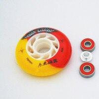 TLTF MFG Patins Roller Skates Wheels 72mm 76mm 80mm Inline Sakte Wheel With Bearings