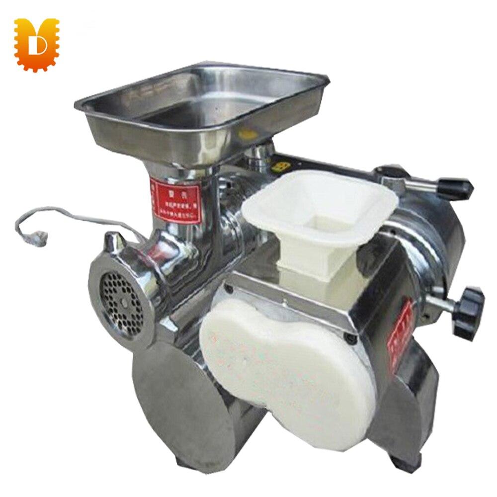 UDJQ 128 электрическая Коммерческая овощная и мясная Мясорубка/машина для резки мяса