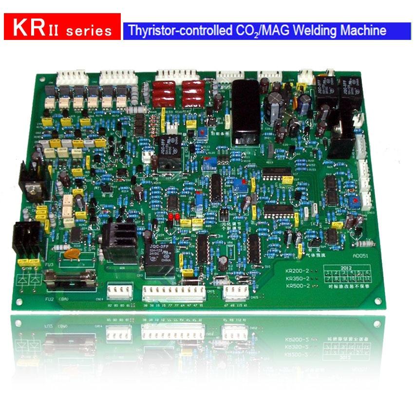 YDT KR-350, KR-500 PCB / placă de control / Tiristor Mașină de - Echipamente de sudura - Fotografie 2