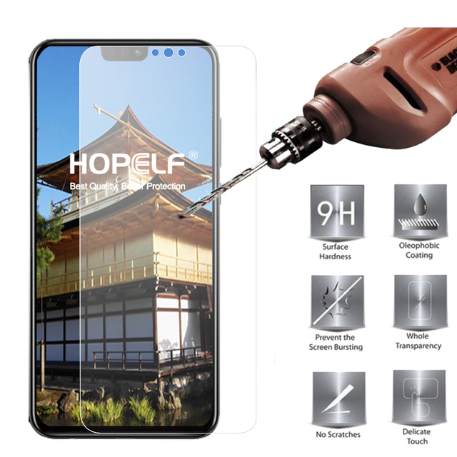 Tempered Glass for Huawei Honor 8X Screen Protector 9H 2.5D Phone Protective...