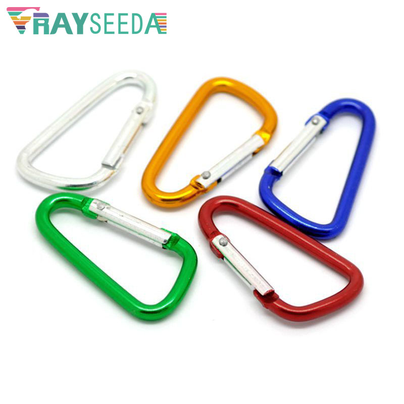 """NEW 4.75/"""" MOUNTAINEER TYPE CARABINER SPRING CLIP FREE SHIPPING"""