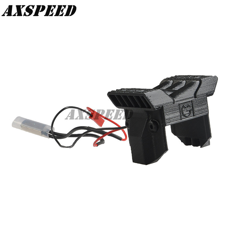 все цены на Electronic Radiator #B (with sensor) ESC Cooling Fan Sensor Heat Radiator for TRAXXAS TRX-4 1/10 Scale RC Cars онлайн