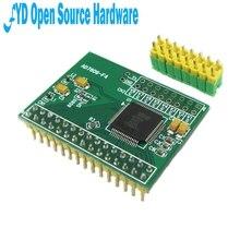 1pcs 16 ביטים ADC 8CH סנכרון AD7606 נתונים רכישת מודול 200Ksps