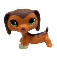 Rare Dog Big Eye Cute Puppy Littlest Pet Shop Toys Animal For Baby Kids Gift