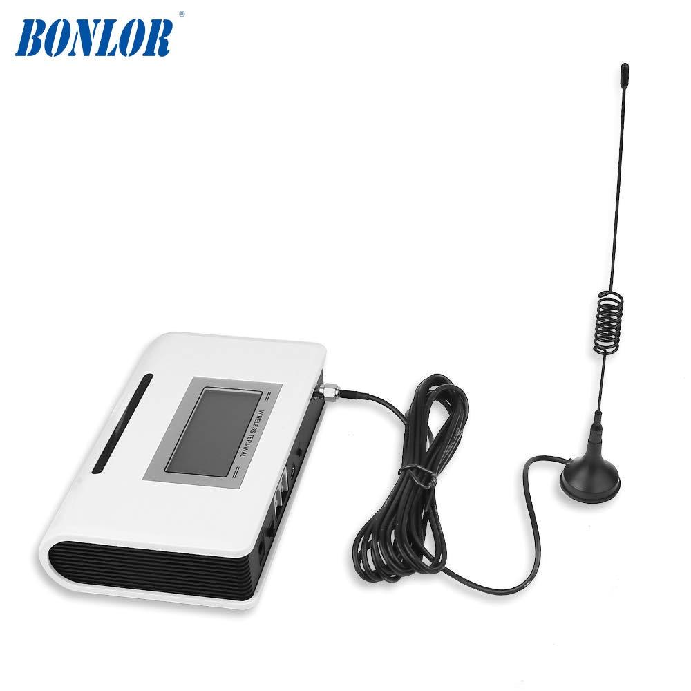 (1 ensemble) SIM Carte GSM Dialer Fixe terminal sans fil 900/1800 Mhz Pour Appeler traduire ou système D'alarme écran lcd bonne qualité