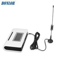 (1 set) cartão SIM Discador GSM Terminal Fixo Sem Fio 900/1800 Mhz Para traduzir ou sistema de Alarme de Chamada Display LCD de Boa qualidade