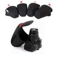 Étui souple intérieur pour appareil photo reflex numérique pour Nikon D40 D7500 D7200 D7100 D7000 D3400 D3200 D3300 D5100 D5600 D5500 D5300 D5200 D90 D700