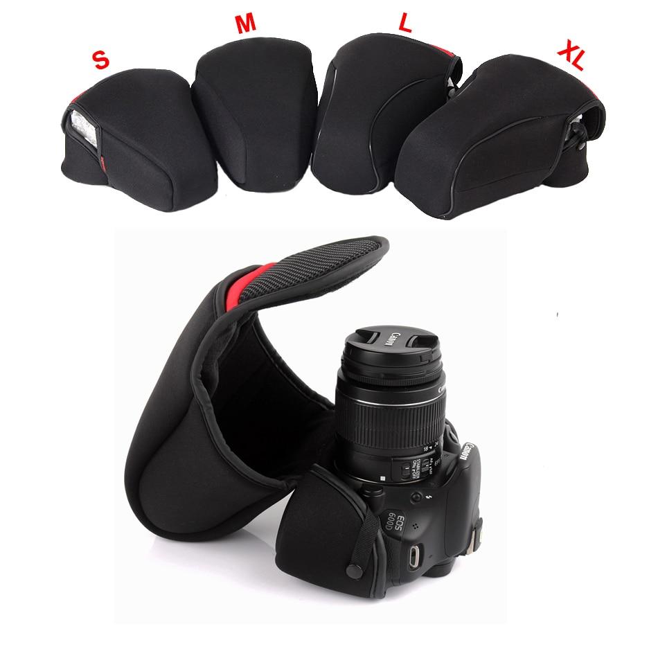 DSLR Camera Inner Soft Bag Case For Nikon D40 D7500 D7200 D7100 D7000 D3400 D3200 D3300 D5100 D5600 D5500 D5300 D5200 D90 D700