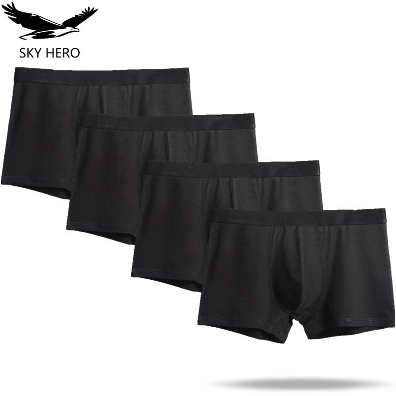 Boxer Mens Underwear Cotton Man Underpants Big Short Colorful Breathable Solid Shorts Boxer Pure Color Panties Jdren Boxershorts