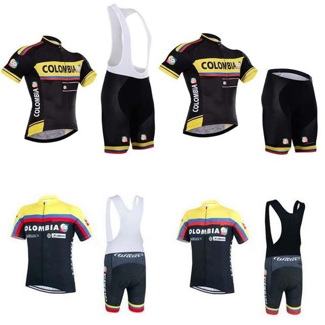00db8522b19 2015 NEW colombia cycling jersey/ropa ciclismo bicicleta bike jersey maillot  ciclismo bicycle cycling clothing+bib shorts