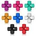 Nova chegada de várias cores de Chrome Mental para cruz para Sony para Playstation 4 para PS4 controlador peças de reparo