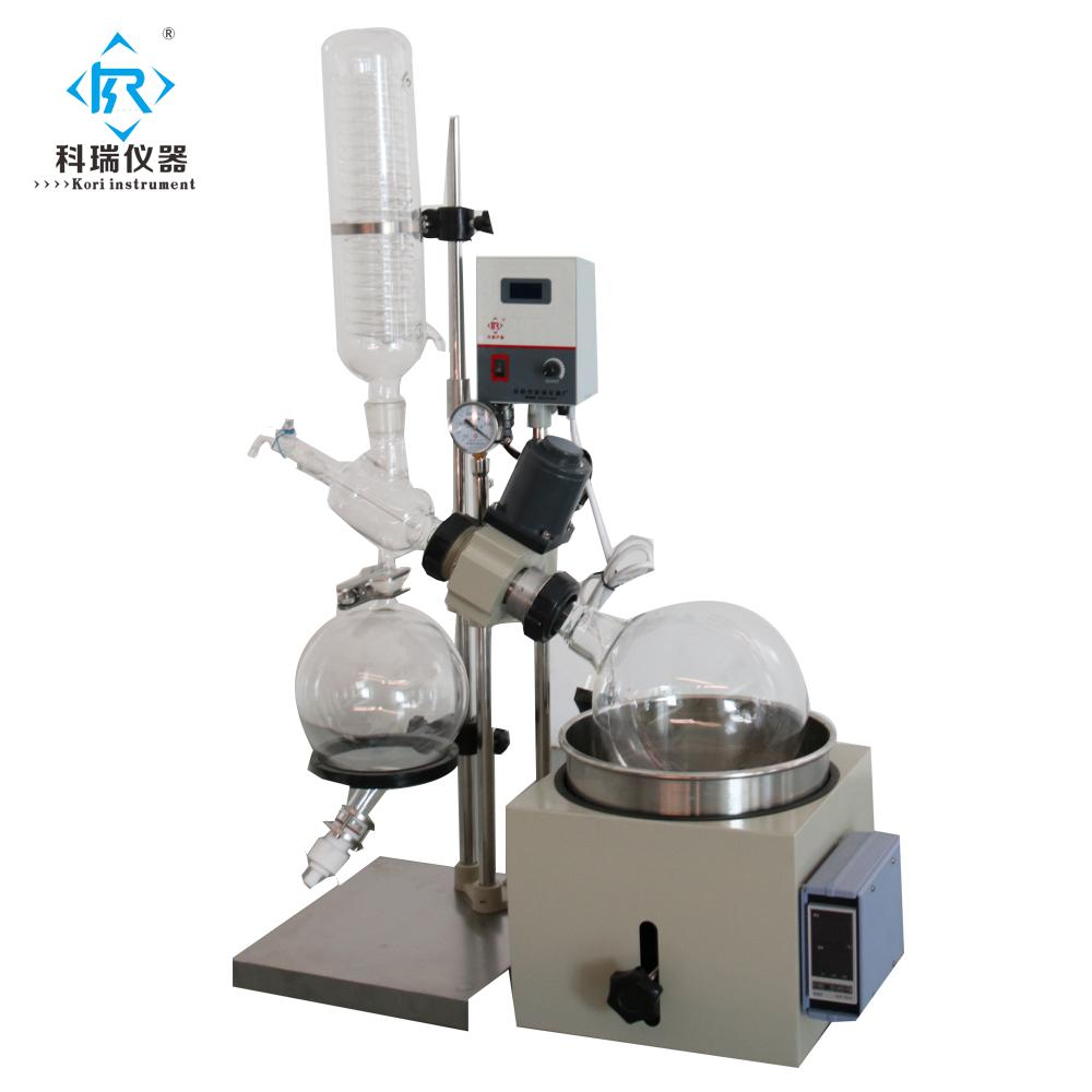 5L China Laboratory Equipment Manufacturer Rotary Evaporator Vacuum distillation  for heating 5L China Laboratory Equipment Manufacturer Rotary Evaporator Vacuum distillation  for heating