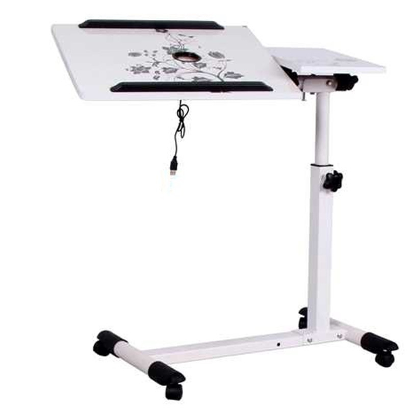 DG#7664 2thought of Kay folding bed lazy notebook comter desk to mobile lifting belt roller FREE SHIPPING bsdt and one hundred million to reach the notebook comter office desktop home simple mobile learning desk free shipping