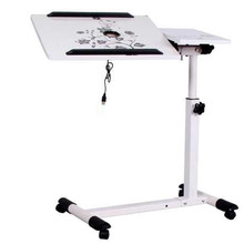 Furniture - Office Furniture - A Simple Language Wo Steel Lazy Table Bedside Comter Desk Folding Laptop Comter Desk Comter Desk On Bed