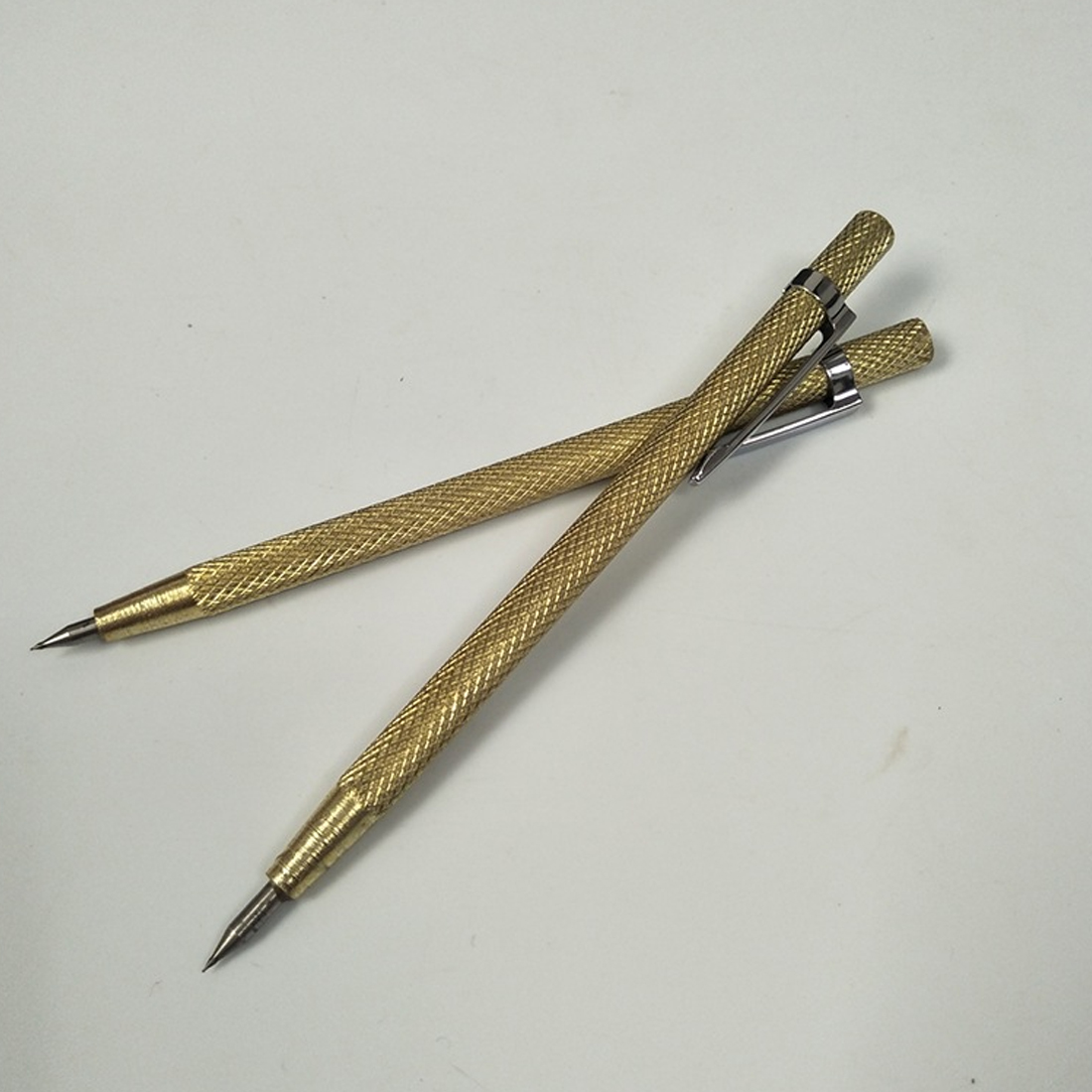 Golden Tungsten Carbide Tip Scriber Etching Pen Carve Jewelry Metal Tool Shell Lettering