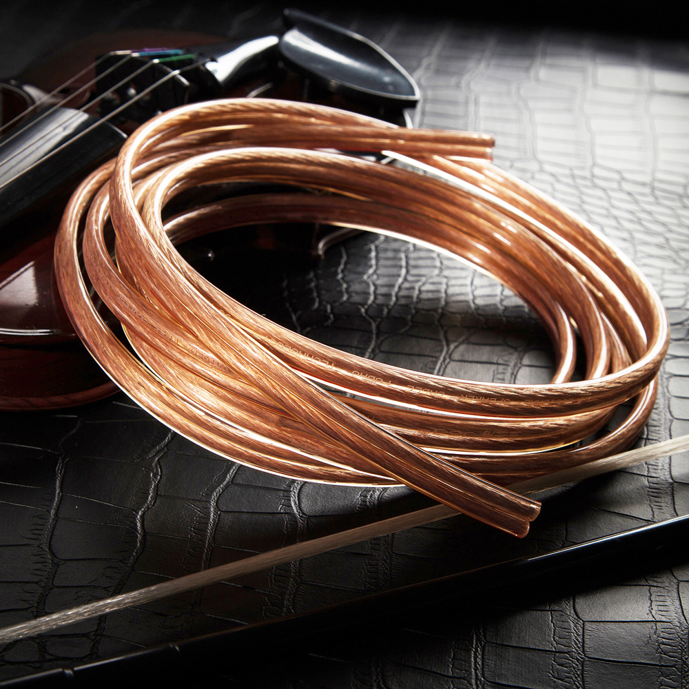 small resolution of hifi transparent speaker cable 12 gauge diy ofc pure copper audio line home theater dj system high end installation car wire on aliexpress com alibaba