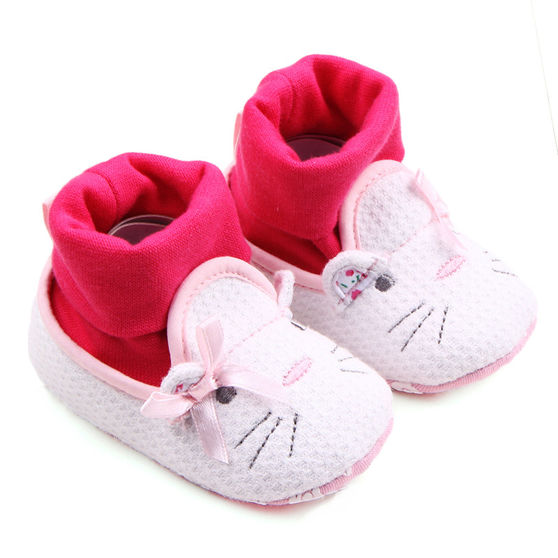 ef578ceb10ba Top Brand Baby Boots for Kids Shoes Cartoon Animal Newborn Booties Infant  Walker Toddler Attipas Boys Girls Winter Warm Footwear-in First Walkers  from ...