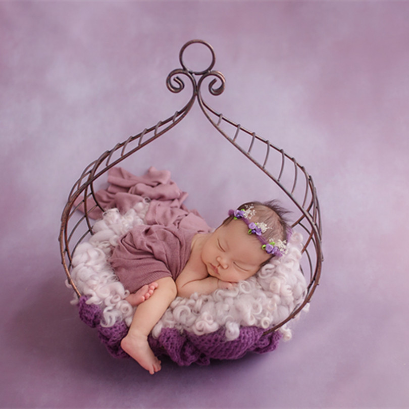 Baby Bed baby iron bed creative Iron Hanging Bed  Newborn Photography Props  Girl and Boy Cradle Posing BackdropBaby Bed baby iron bed creative Iron Hanging Bed  Newborn Photography Props  Girl and Boy Cradle Posing Backdrop