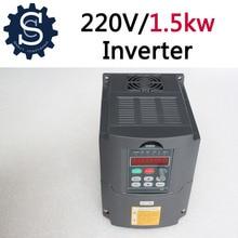 HY 1500 W inversor 220 V 1.5kw VFD Husillo Variador de Frecuencia Inversor Máquina