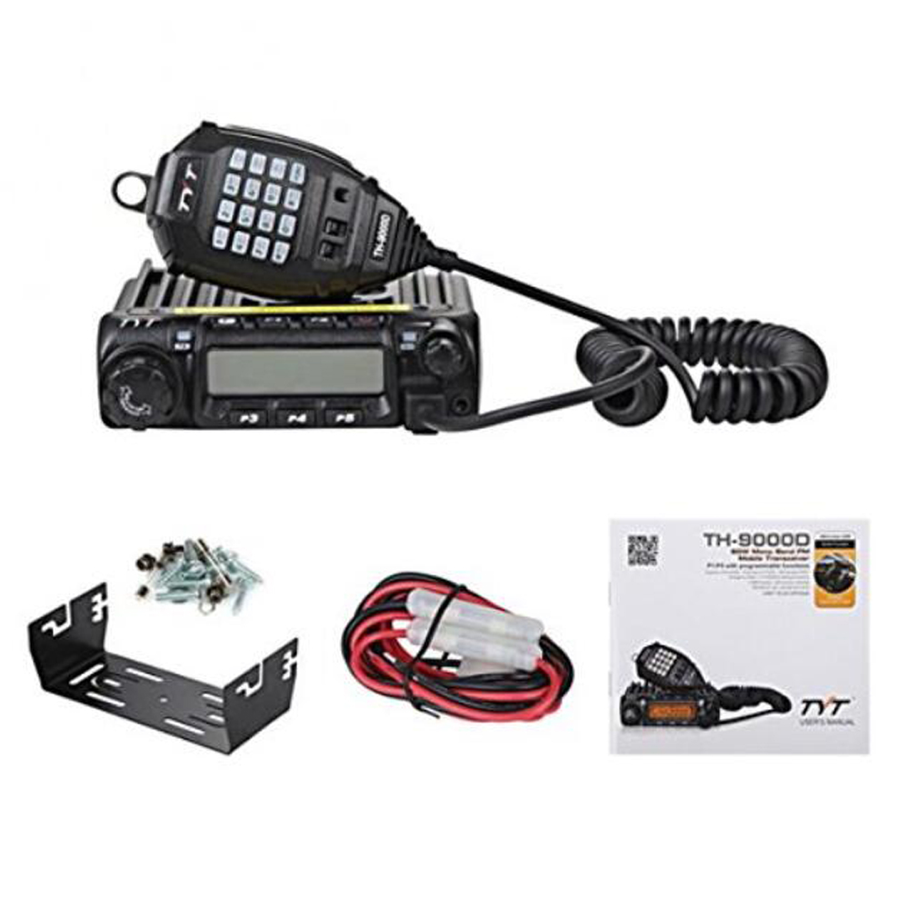 Latest Version TYT TH-9000D Mobile Radio 200CH 60W Super Power High/Mid/Low power selectable Walkie Talkie